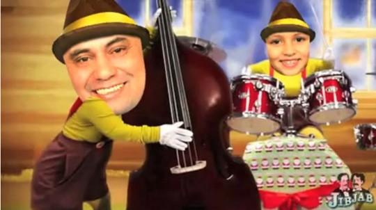 Feliz Navidad Te Desea Alvaro Mendoza y Familia