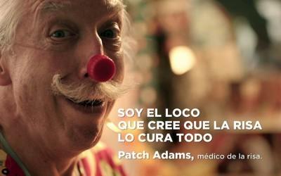 La inspiradora y contagiosa locura de Patch Adams