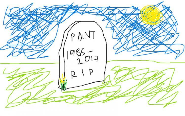 Lecciones de la muerte y resurrección de Paint