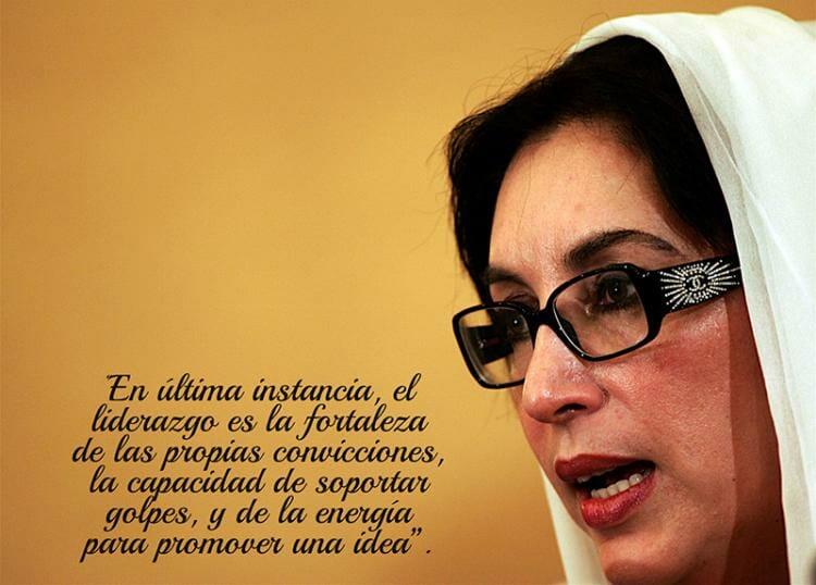 Lecciones de Benazir Bhutto, la líder que dio su vida por su pasión