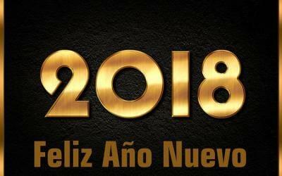 Feliz Año Nuevo: que 2018 sea el mejor de tu vida