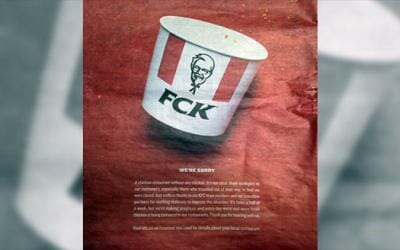 KFC: geniales lecciones de marketing en medio de la crisis