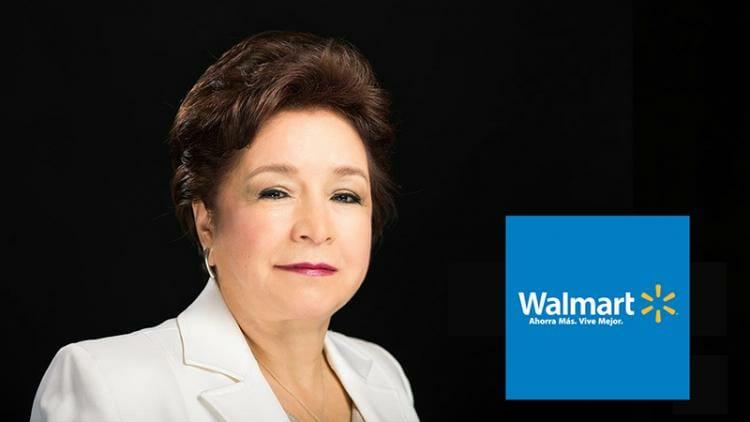 Lupita Morales fue cajera y hoy es vicepresidenta