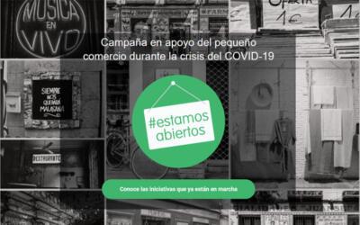 #EstamosAbiertos: hoy por ti, mañana por mí (aplausos)
