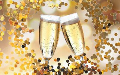 Un brindis y una oración por la vida: ¡Feliz Año!