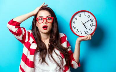 ¿Eres uno de tantos que nunca tienen tiempo?