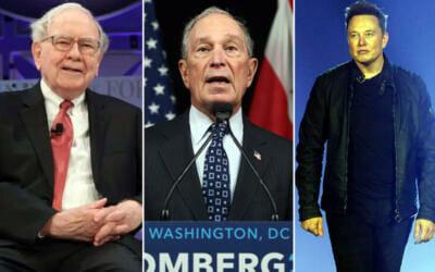 Estos fueron los oficios precarios de 3 multimillonarios, antes de serlo